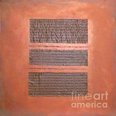 Painting - Copper Clad Number Three by Marlene Burns