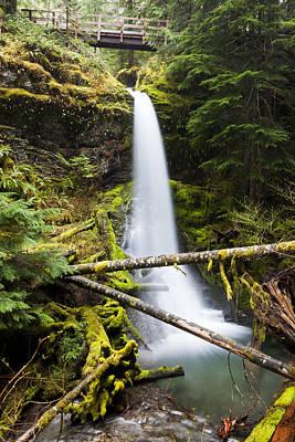 Kevin Miller Photograph - Copper Creek Falls by Kevin Miller