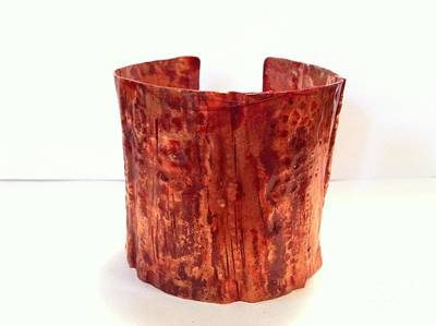 Jewelry - Copper Cuff Bracelet by Victoria Bosman