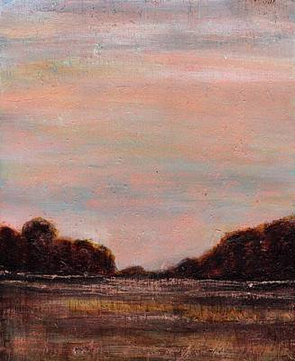 Painting - Copper Dusk by Cindy Johnston