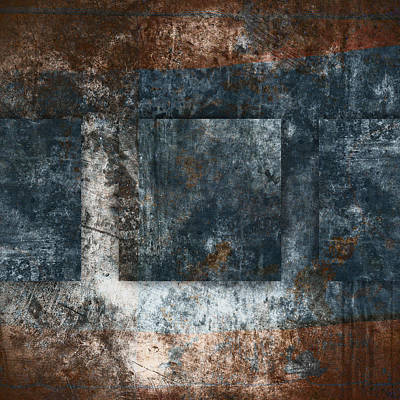 Aged Patina Photograph - Copper Finish 1 by Carol Leigh