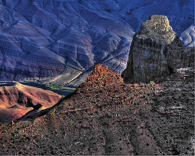 Photograph - Copper Hues Of Grand Canyon by Don Wolf