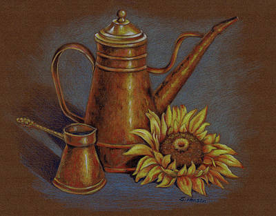 Painting - Copper Kettle by Sue Henson
