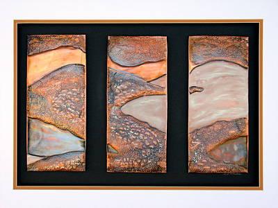 Copper Mountain Art Print by Judy McFee