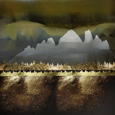 Abstract Landscape Royalty-Free and Rights-Managed Images - Copper Mountain by Katherine Smit