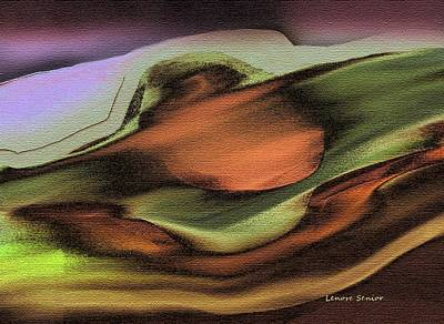 Copper Mountain Art Print by Lenore Senior