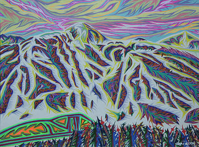 Painting - Copper Mountain by Robert SORENSEN