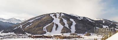 Copper Mountain Ski Resort Art Print