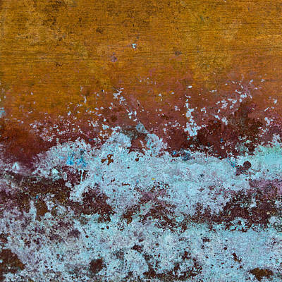 Copper Patina Art Print by Carol Leigh