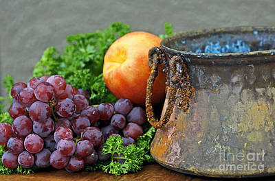 Photograph - Copper Pot Still Life by Nancy Greenland