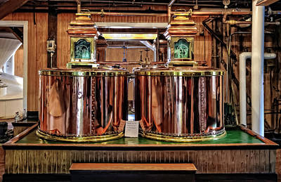 Photograph - Copper Pot Whisky Stills At Makers Mark Distillery  -  Copstil676 by Frank J Benz