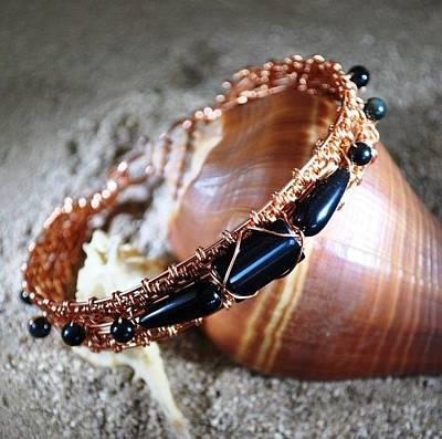 Copper Bracelet Jewelry - Copper Queen by Judy Wood