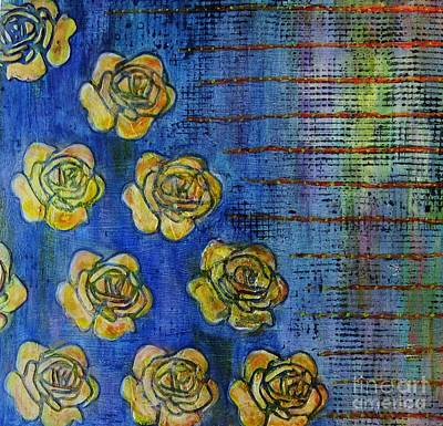 Desiree Rose Painting - Copper Roses by Desiree Paquette