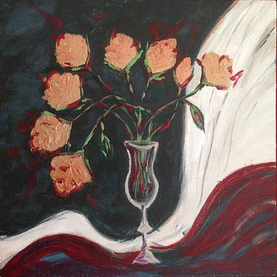 Copper Roses Original
