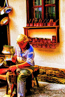 Photograph - Copper Smith by Rick Bragan