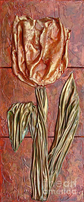 Painting - Coppered Bloom by Phyllis Howard