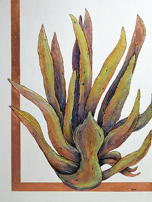 Painting - Copperstate Agave by JAXINE Cummins
