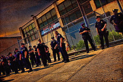 Photograph - Cops by Chris Lord