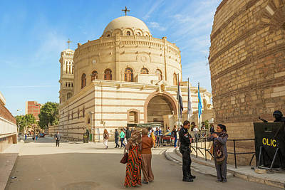 Sean Rights Managed Images - Coptic church in Cairo, Egypt Royalty-Free Image by Marek Poplawski