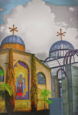 Coptic Church Rebirth Art Print