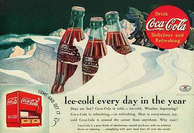 Copy Of A 1925 Coca Cola Ad Art Print