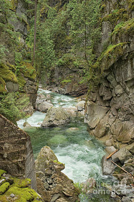 Photograph - Coqhuihalla River, Bc, Canada by Patricia Hofmeester
