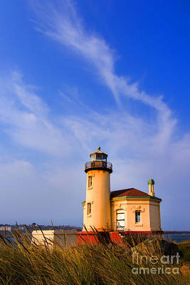Photograph - Coquille Lighthouse by Sonya Lang