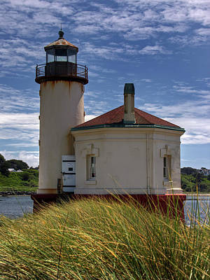 Photograph - Coquille Lighthouse V by Inge Riis McDonald