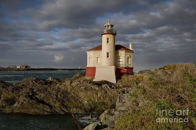Photograph - Coquille River Light by Idaho Scenic Images Linda Lantzy