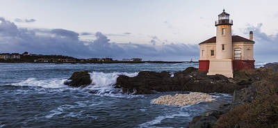 Photograph - Coquille River Light by Loree Johnson