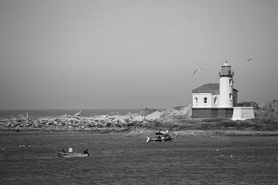 Coquille River Light Print by Ralf Kaiser