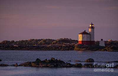 Photograph - Coquille River Lighthouse Bandon Oregon by Rick Bures