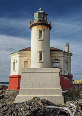 Photograph - Coquille River Lighthouse In Color by Greg Nyquist