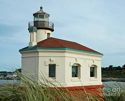 Coquille River Lighthouse Art Print by Nick  Boren