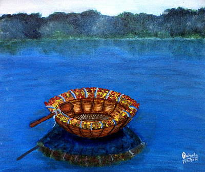 Painting - Coracle by Pratyasha Nithin