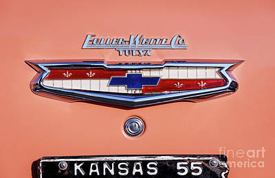 Photograph - Coral '55 Chevy by Dennis Hedberg