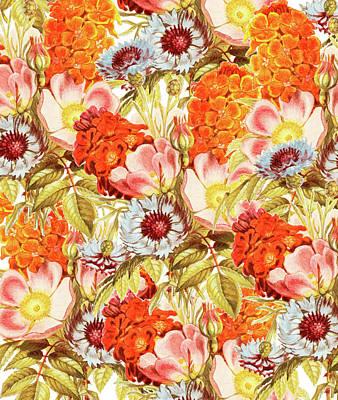 Coral Bloom Art Print