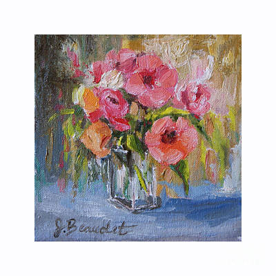 Painting - Coral Bouquet by Jennifer Beaudet