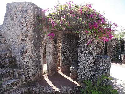 Photograph - Coral Castle by Anne Sands