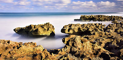 Photograph - Coral Cove Seascape by Carol Eade