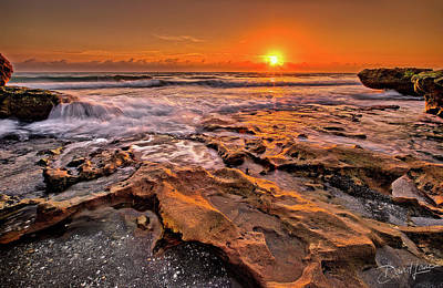 Photograph - Coral Cove Sun by David A Lane
