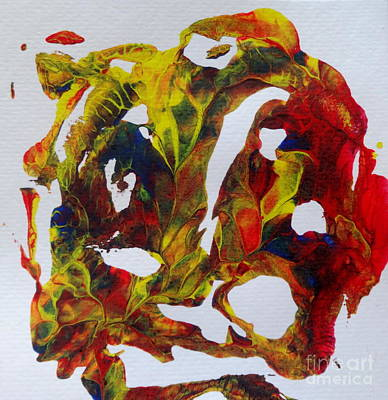 Painting - Coral  by Fred Wilson