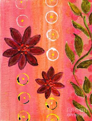 Desiree Rose Painting - Coral Garden by Desiree Paquette