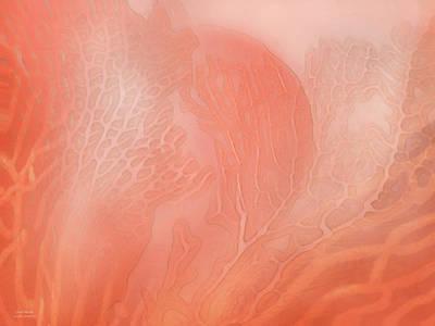 Mood Art Mixed Media - Coral Moods by Carol Cavalaris
