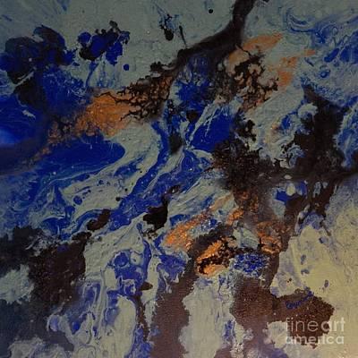 Painting - Coral Ocean by Corinne Elizabeth Cowherd