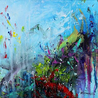 Painting - Coral Reef by Kume Bryant