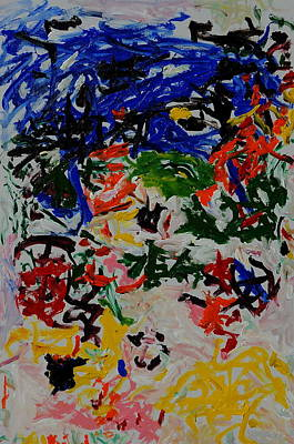 Coral Riff Art Print by Wayne Salvatore