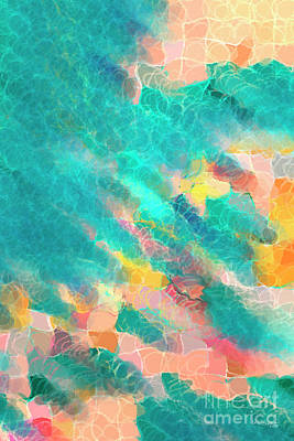 Painting - Coral Sea. Modern Decor Collection by Mark Lawrence