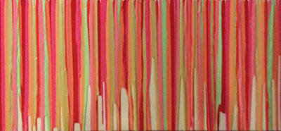 Painting - Coral Stripe  by Margalit Romano