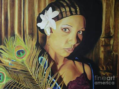 Noble Richardson Painting - Corazon by Noble Richardson